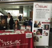 ISS of BC Booth at Career Fair